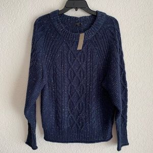 J. Crew Chunky Knit Crewneck Sweater